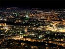 Damascus by night seen from Jebel Qassioun