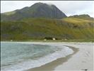 Haukelandstrand, the beach