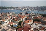 Busy Bay in Istanbul